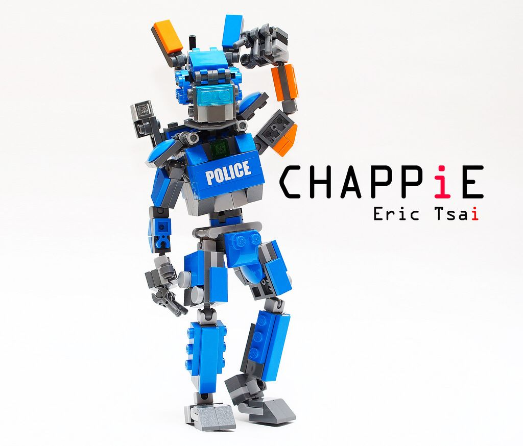 Картинки лего робот чаппи