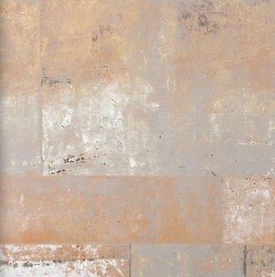 Details zu Vlies Tapete 47214 Stein Muster Bruchstein terracotta