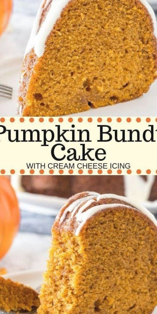 Hands down - the best pumpkin cake you ll ever try  This moist pumpkin bundt cake has a delicious pumpkin flavor  is filled with warm spices  and topped with a drizzle of cream cheese glaze  Way easier than making pumpkin pie - it s the perfect dessert for fall   #pumpkin #pumpkincake #bundt #easy #dessert #fall #thanksgiving #recipe #fromscratch #moist #creamcheese #pumpkinbundtcake