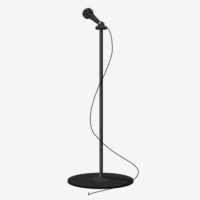 Music Equipment Microphone Microphone Microphone Stand Concert Cartoon Microphone Audio Equipment Png Transparent Clipart Image And Psd File For Free Downloa Clip Art Prints For Sale Easy Fonts