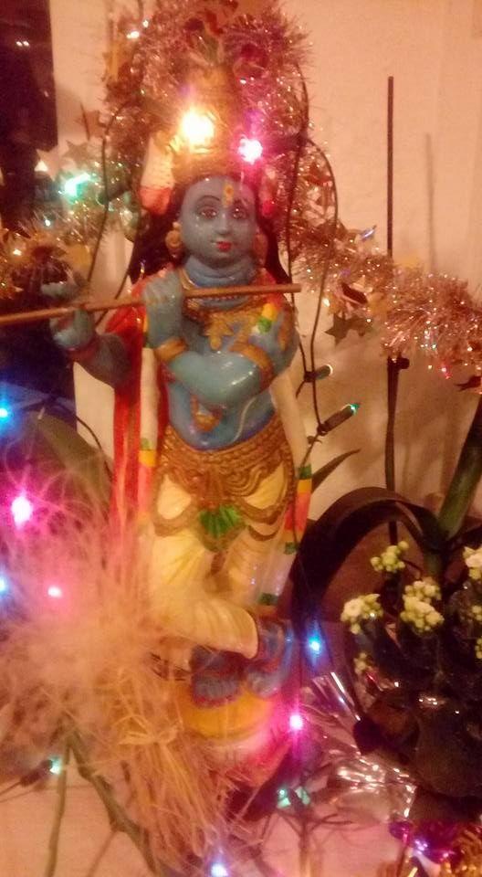 krishna at christmas