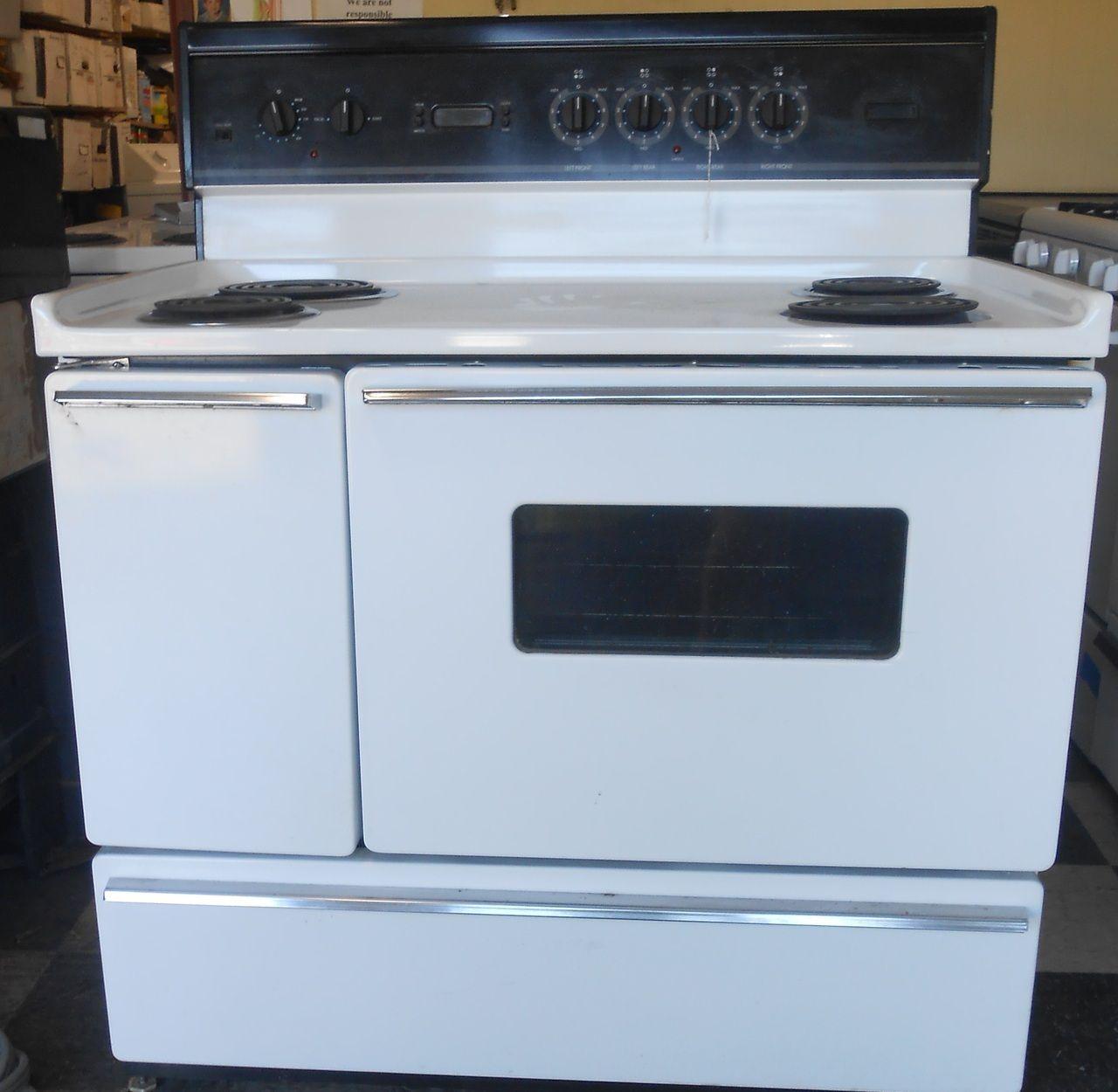 40 Inch Electric Range Part - 21: Appliance City - TAPPAN 40 INCH ELECTRIC RANGE WHITE , $600.00 (http://