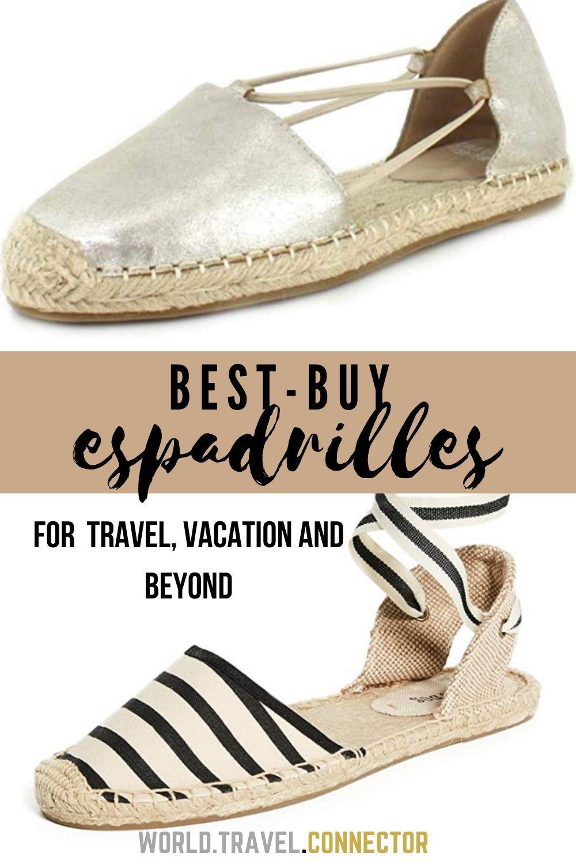 Travel shoes, Espadrilles