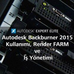 Bu eğitim setimiz ile Autodesk Backburner kullanarak hem kendi render farmınızı nazıl oluşturabilir hemde render sürelerinizi nasıl kısaltmanın yöntemleri anlatılmıştır.