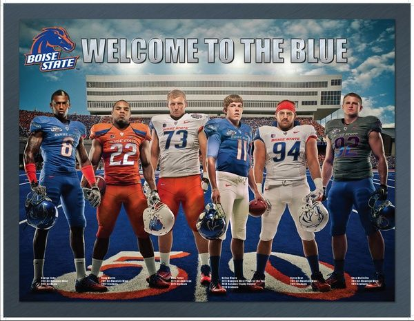 New Football Camp Poster for Boise State Broncos Boise
