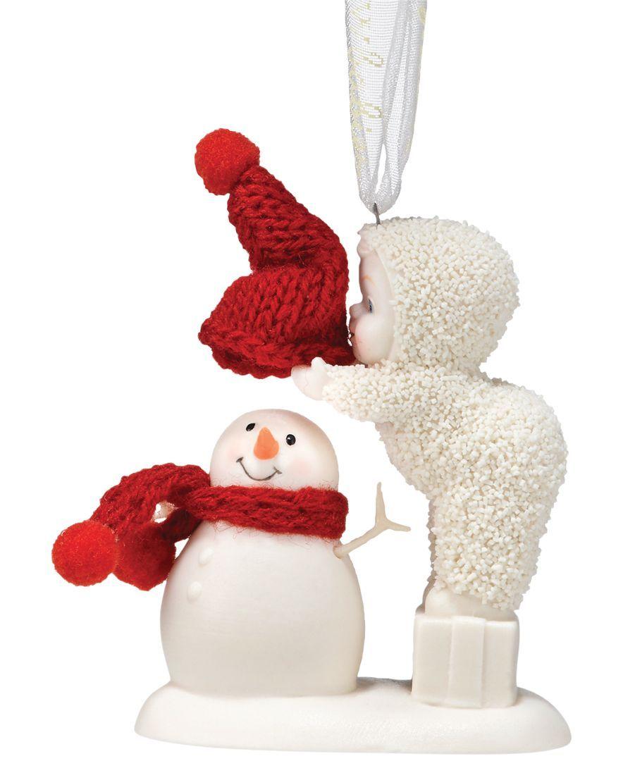 Department 56 snowbabies ornaments - Department 56 Snowbabies Top It Off Ornament