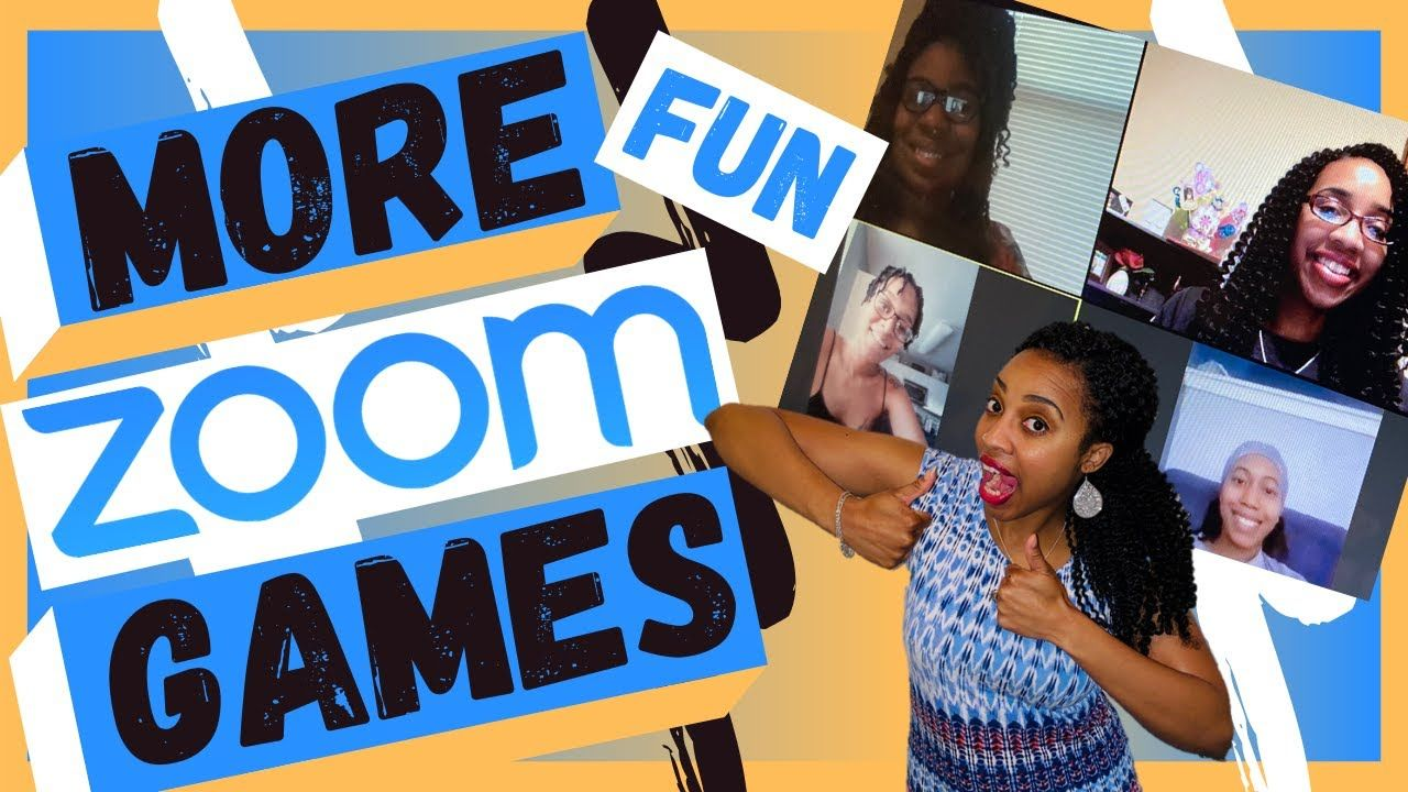 MORE FUN ZOOM GAMES for online virtual conference calls