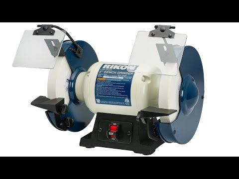 Strange Rikon 8 Slow Speed Bench Grinder 1 2 Hp Product Videos Machost Co Dining Chair Design Ideas Machostcouk