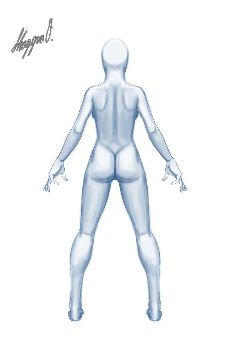 Картинки по запросу female body drawing template   Делаю куклу ...