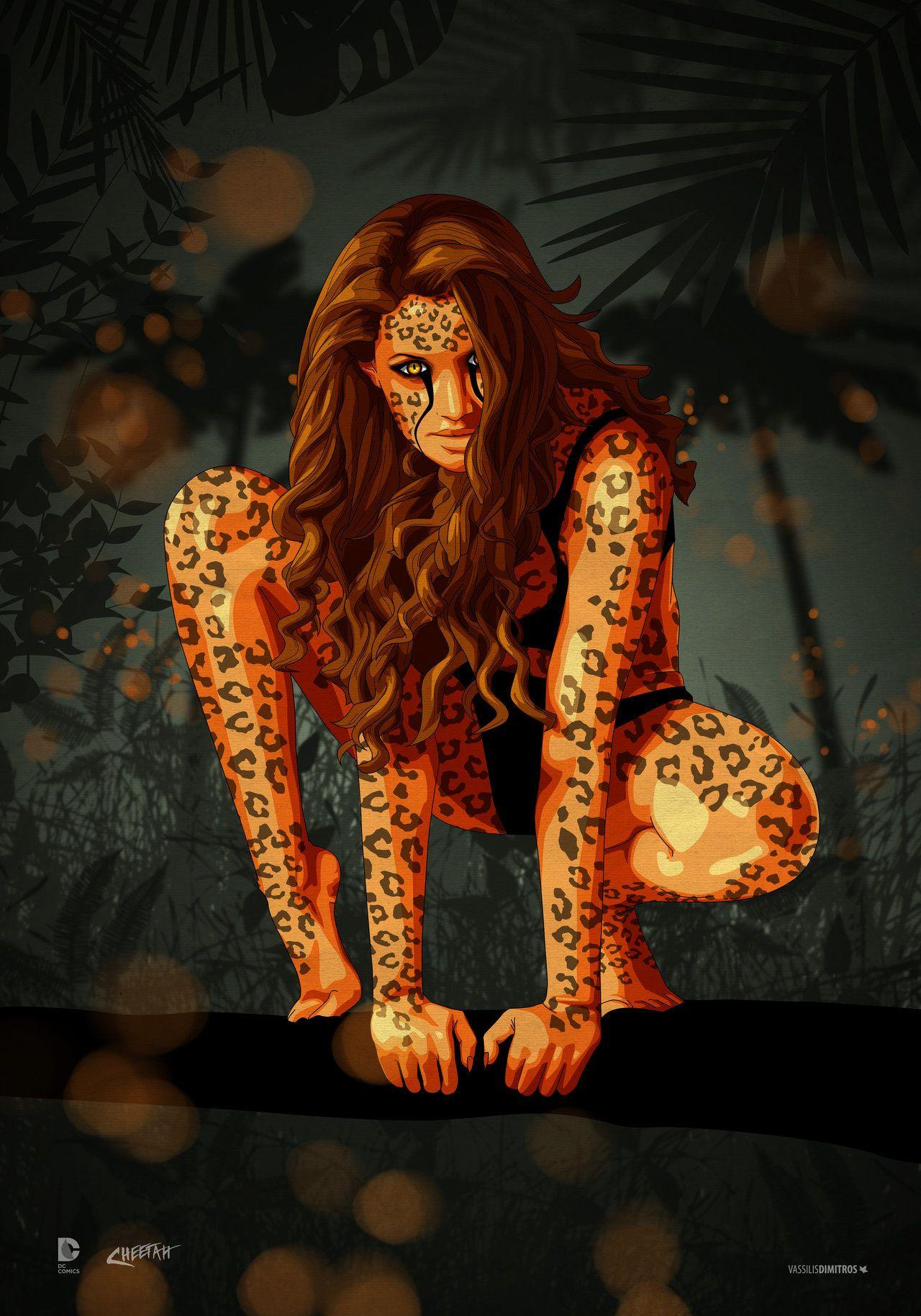 Cheetah Cheetah Wonder Woman Cheetah Comics Cheetah Dc Comics