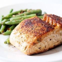 Baked Herbed Salmon - The secret to crispy, flavorful salmon with an extremely tender inside