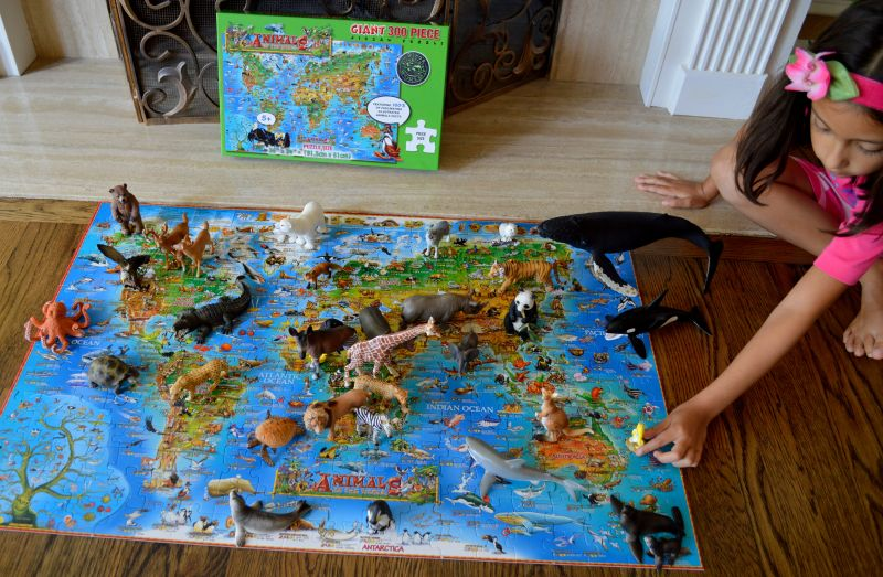 Animals of the 🌍World Puzzle & Animals Movement (🐙Swim, 🐶 ...