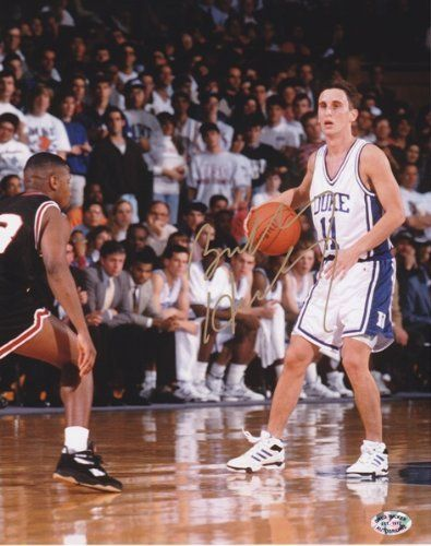 Bobby Hurley Autographed Duke 8x10 Photo . $68.00. Bobby Hurley has personally hand signed this 8x10 Photo. This item comes with Greg Tucker Autographs authenticity sticker on the photo and a Certificate of Authenticity.