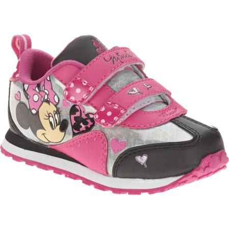 """Disney Junior Minnie Mouse Girl/'s sandals Adjustable With Lights /"""" PINK /"""""""