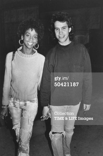 Brian Robbins and Holly Robinson