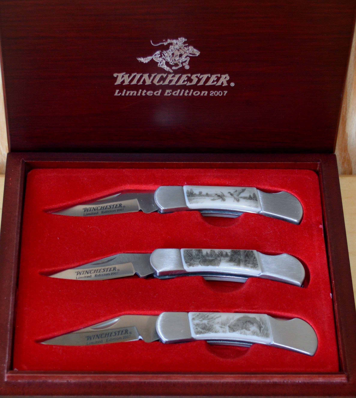 Limited Edition Winchester 2007 Ersat Scrimshaw Wildlife