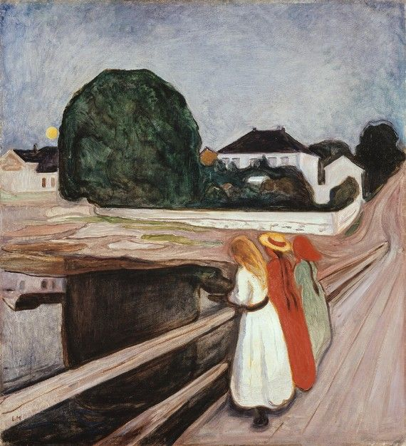 The Girls on the Bridge- Edward Munch