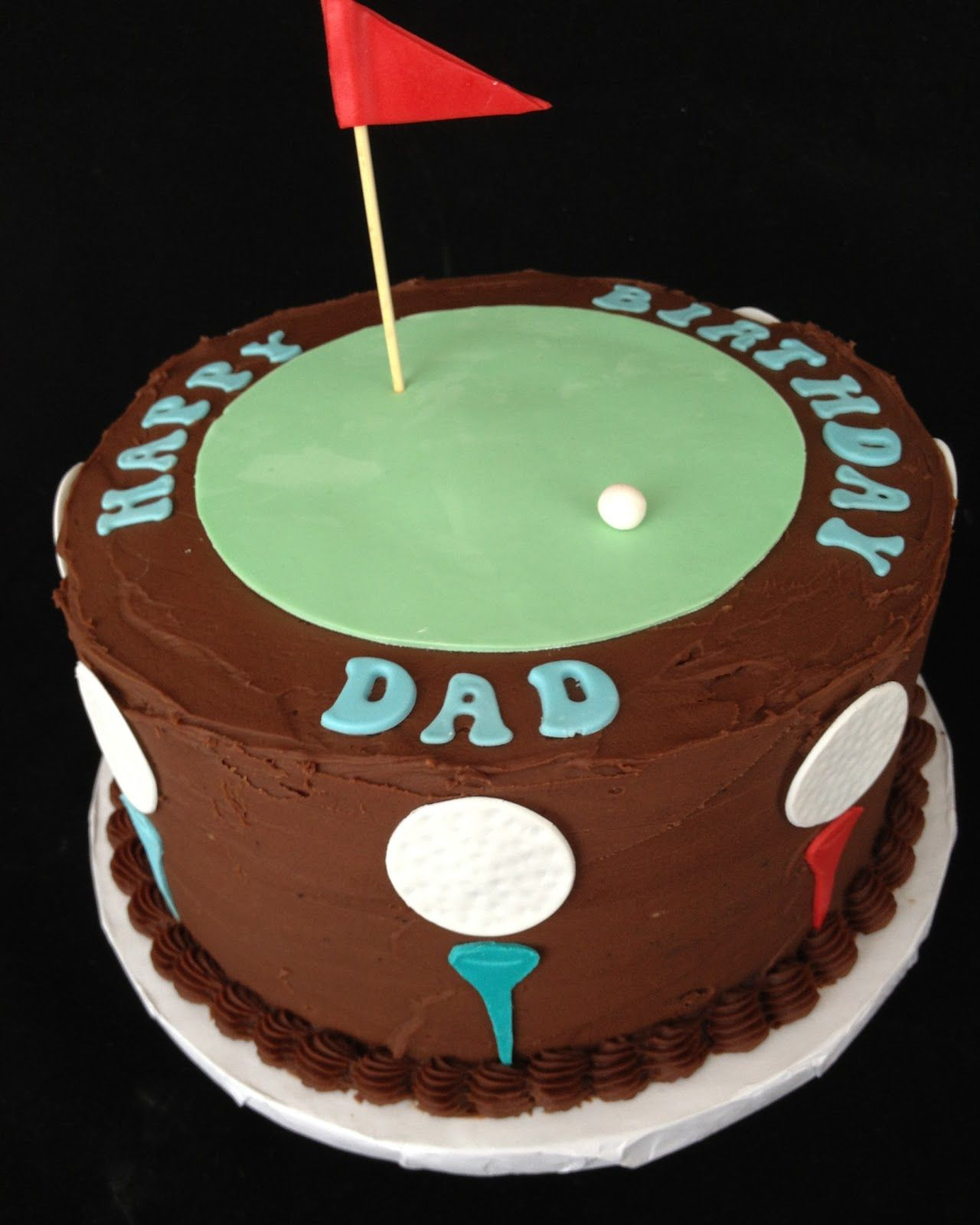 easy cake decorating ideas for dad birthday Google