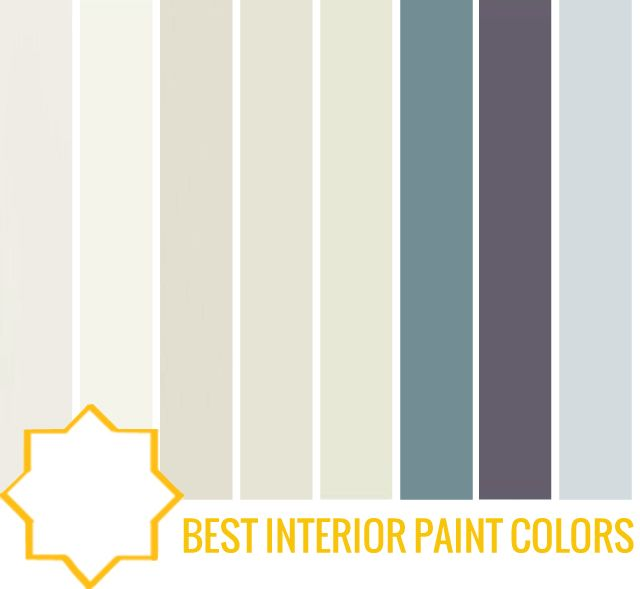 Interior Paint Palette Ideas