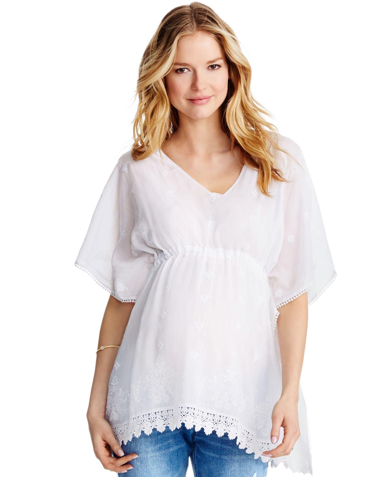 Jessica simpson maternity lace trim peasant blouse products jessica simpson maternity lace trim peasant blouse ombrellifo Image collections
