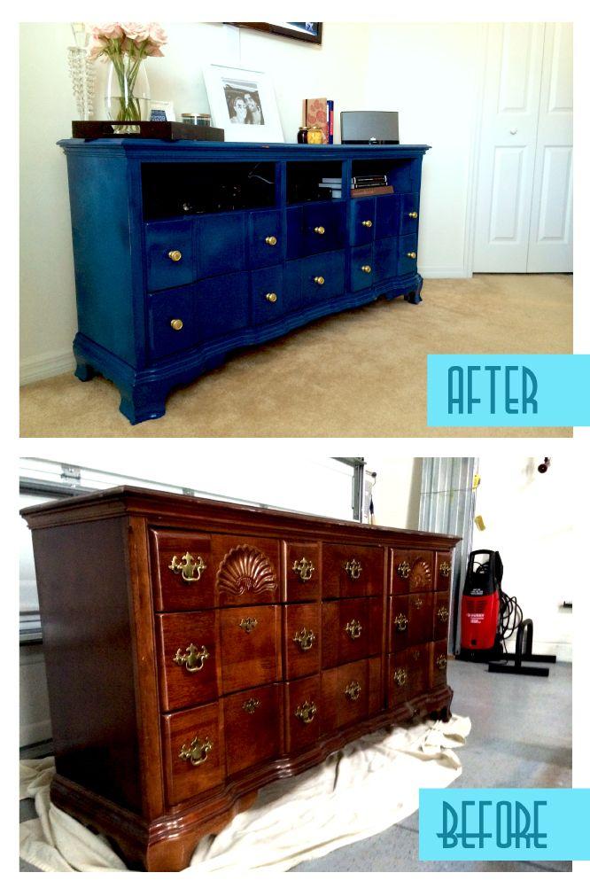 Refurbished Vintage Dresser