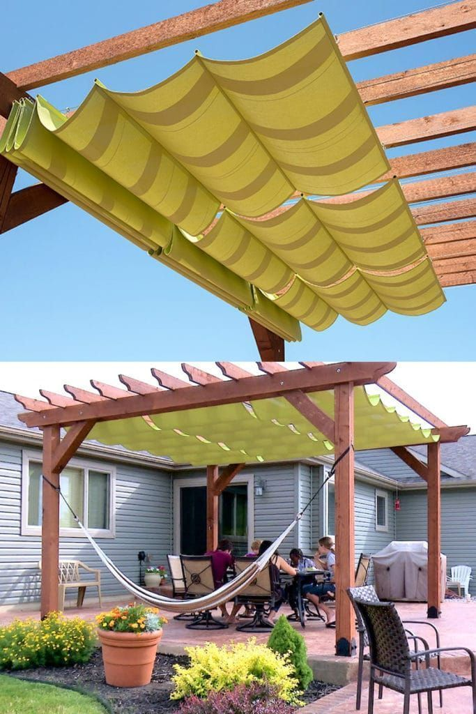 Photo of 12 Beautiful Shade Structures & Patio Cover Ideas