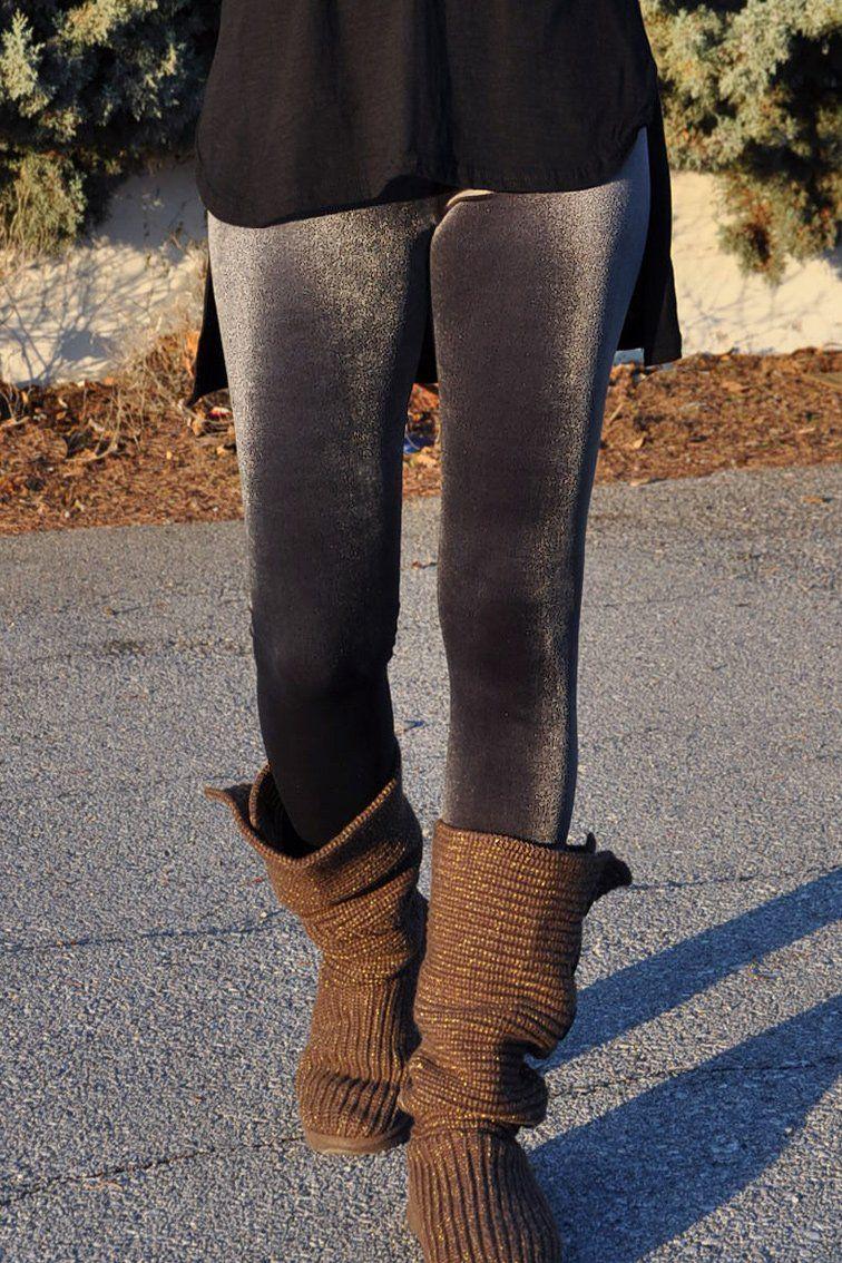 15b0873ffc35 Γυναικείο Κολάν Βελούδινο Ελαστικό σε Γκρι Χρώμα - Μεγέθη S-XXL ...