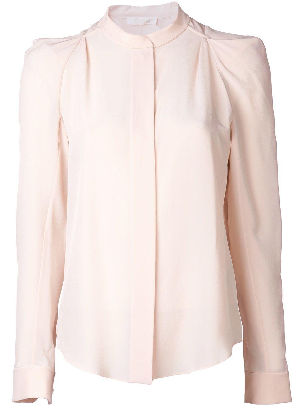 Chloé - crepe de chine blouse 6