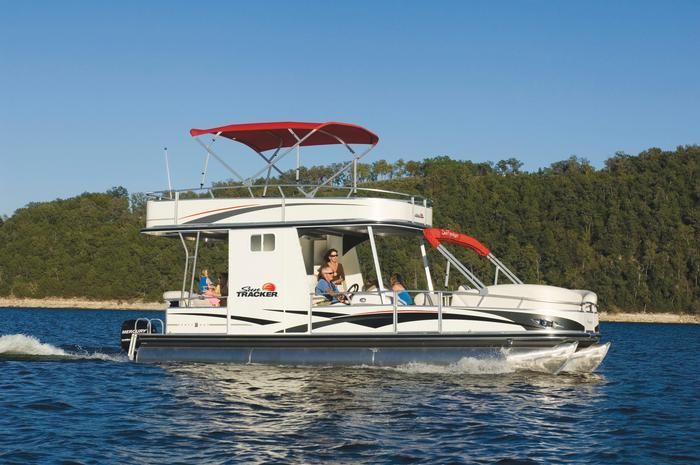 Image detail for -New Boats › Sun Tracker › Pontoon Boat › Party Hut ...