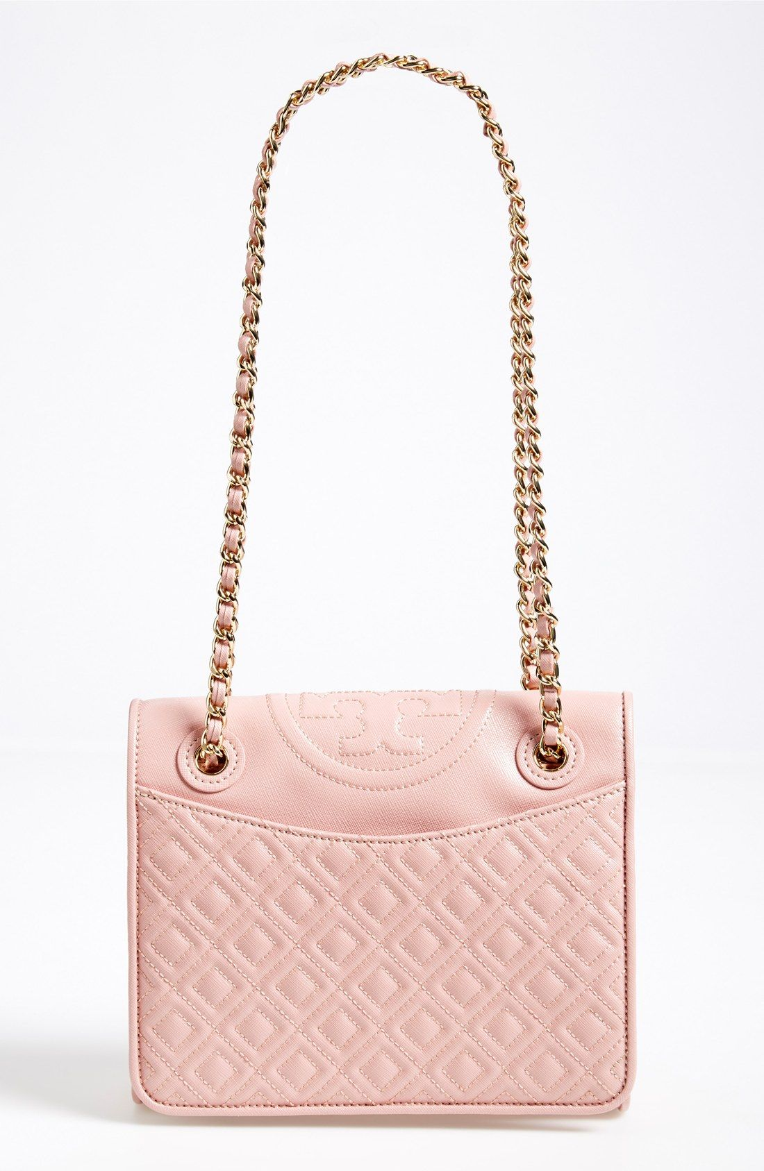 Such A Pretty Pink Diamond Quilted Shoulder Bag Tory