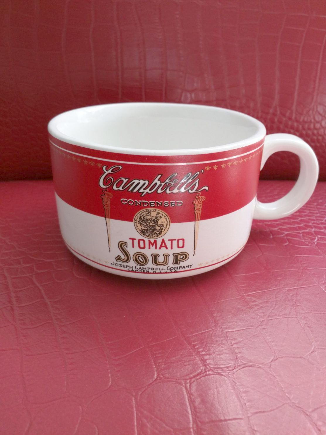 Java Joy Thanks To The Best Advice Available With Images Soup Mugs Campbell Soup Mugs
