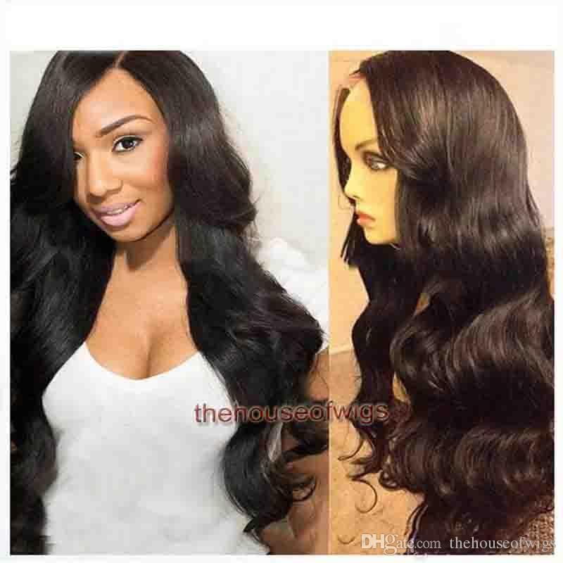 554b437d24 Full Lace Wigs For Sale Side Bangs 150 180 Density For Black Women Wavy Glueless  Lace