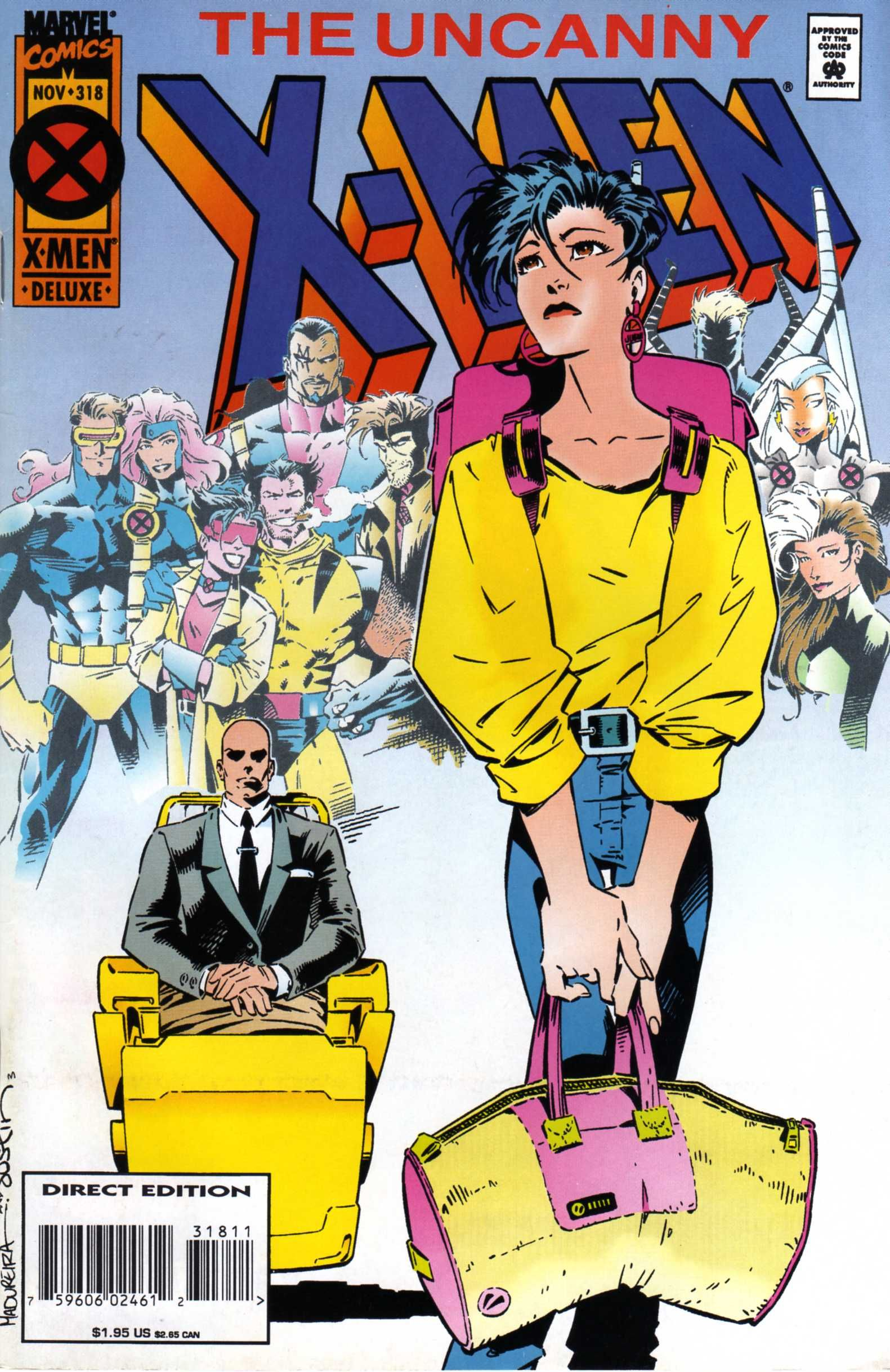 Jubilee In The Uncanny X Men Vol 1 318 Cover Art By Joe Madureira Terry Austin Comics X Men Marvel Comics