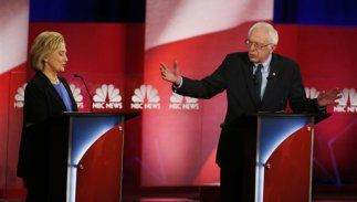 In tight race, Democrats debate passion versus practicality