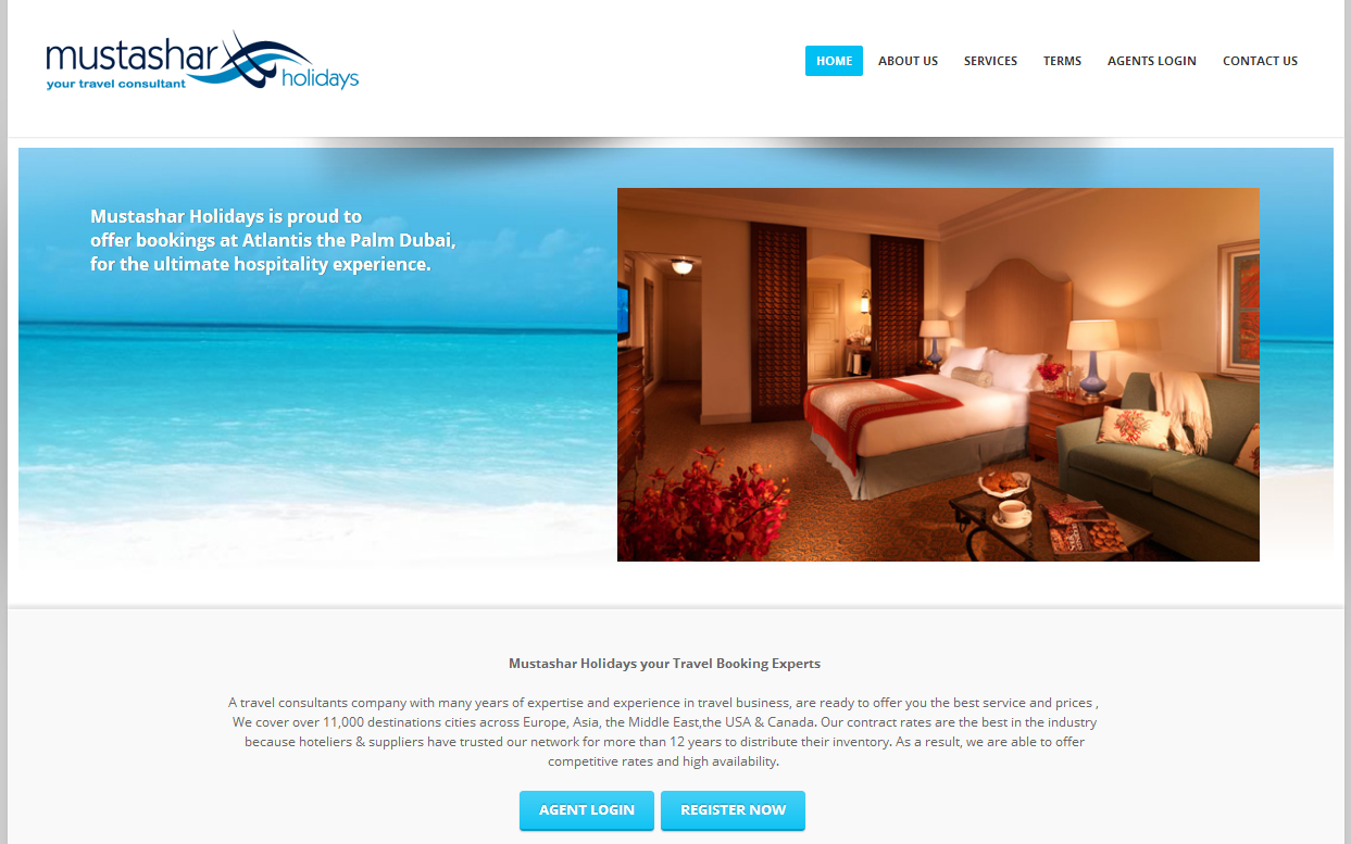 Mustashar Holidays is a Kuwaiti Based B2B travel wholesaler