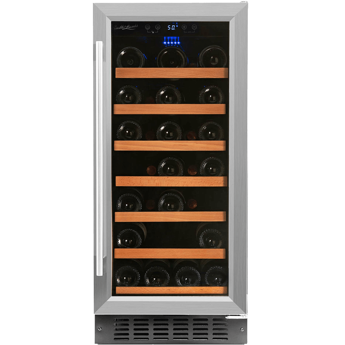 Smith Hanks 34 Bottle Single Zone Wine Cooler Quench Essentials Built In Wine Refrigerator Wine Wine Refrigerator