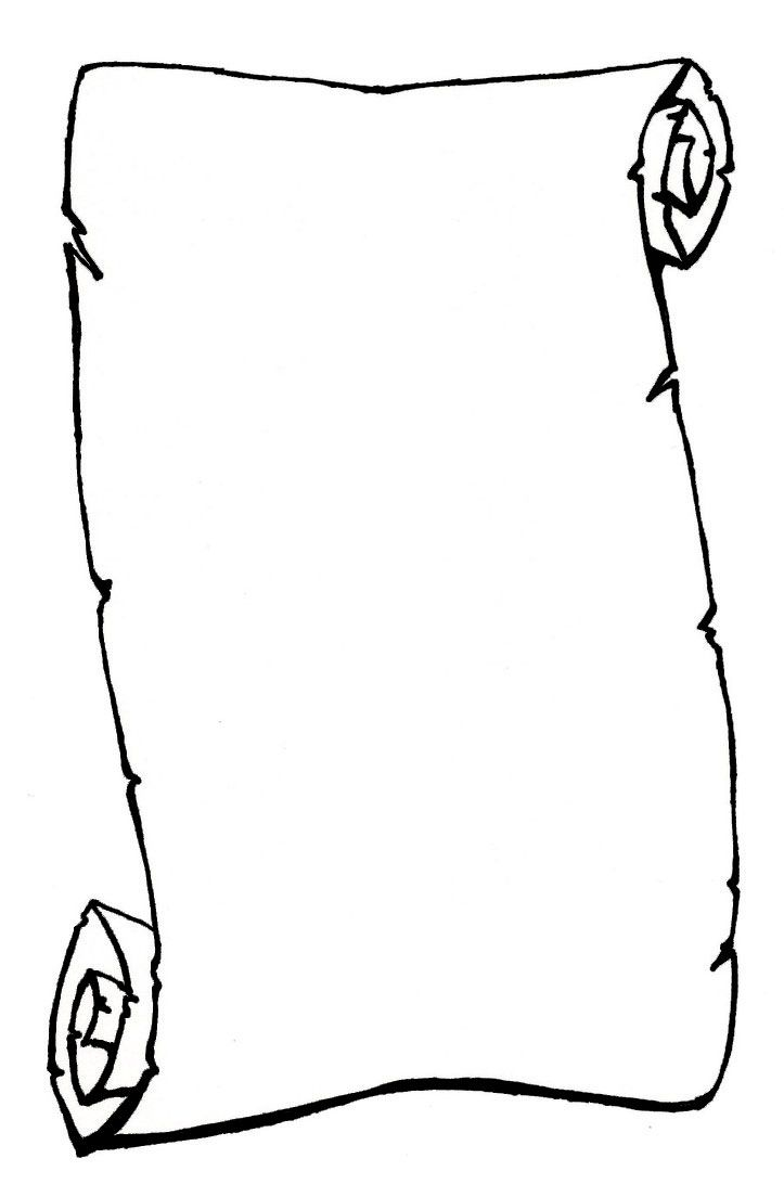 paper scroll clip art clipartfox [ 723 x 1104 Pixel ]