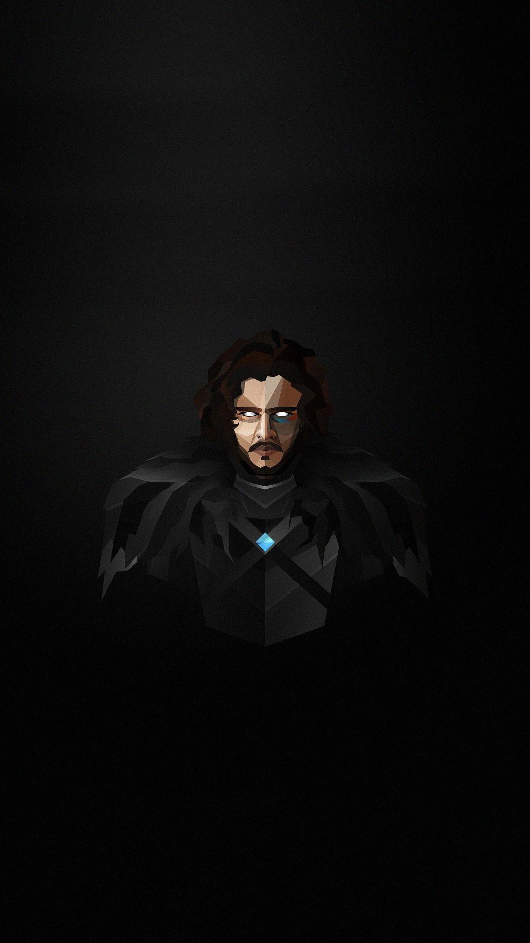 Minimal Art Game Of Thrones Jon Snow Wallpaper Snow Wallpaper Iphone Jon Snow Game Of Thrones