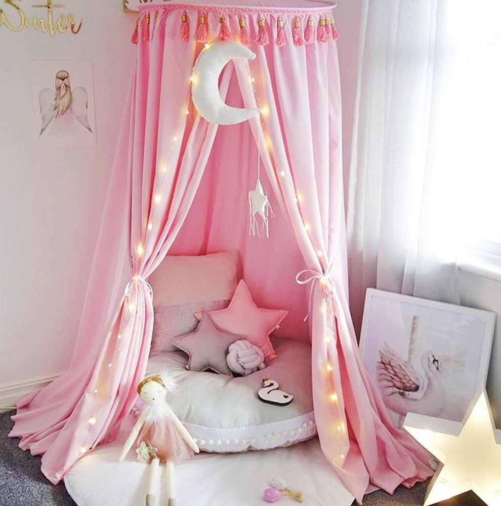 Pink Bedroom Ideas That Can Be Pretty And Peaceful Or: Hope & Jade Canopy In 2020