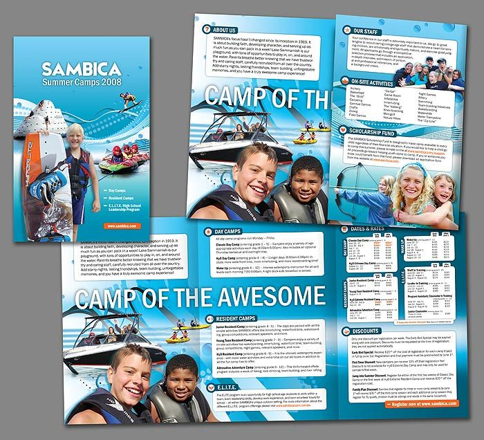 Pin By Heartland Camp On Camp Brochures    Brochures