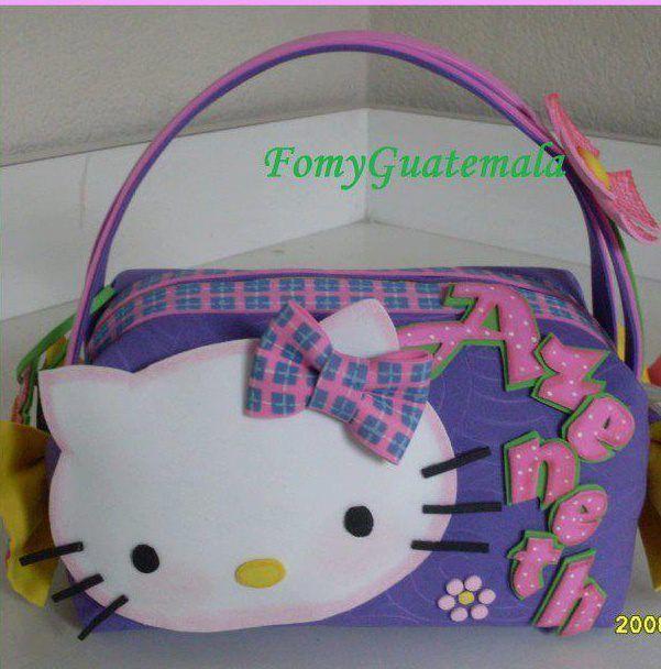 Bolsa De Ombro Hello Kitty : Carteras de foami buscar con google party table