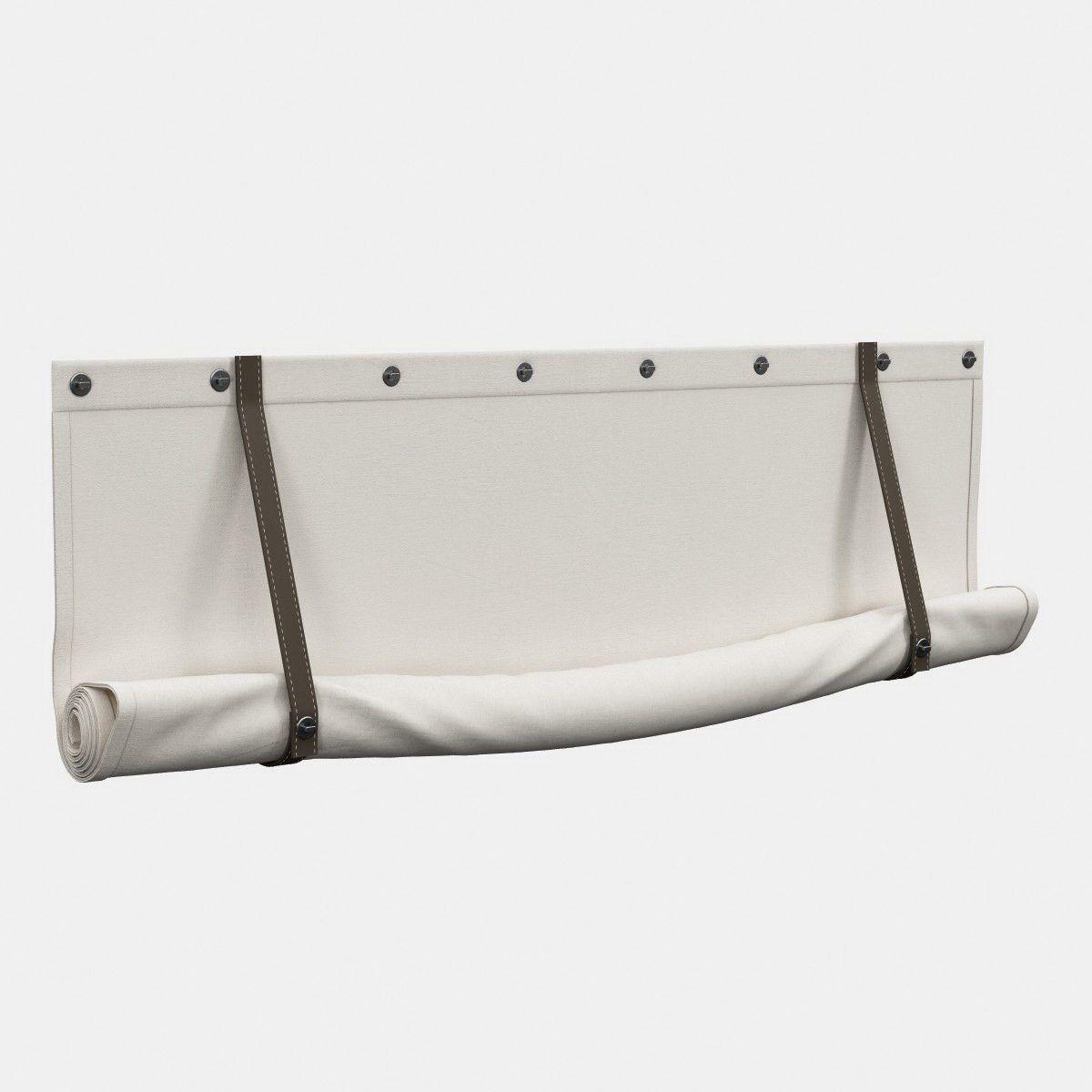 Roman Roll Shade 3D Model - 3D Model   Beachy in 2019   Roman blinds