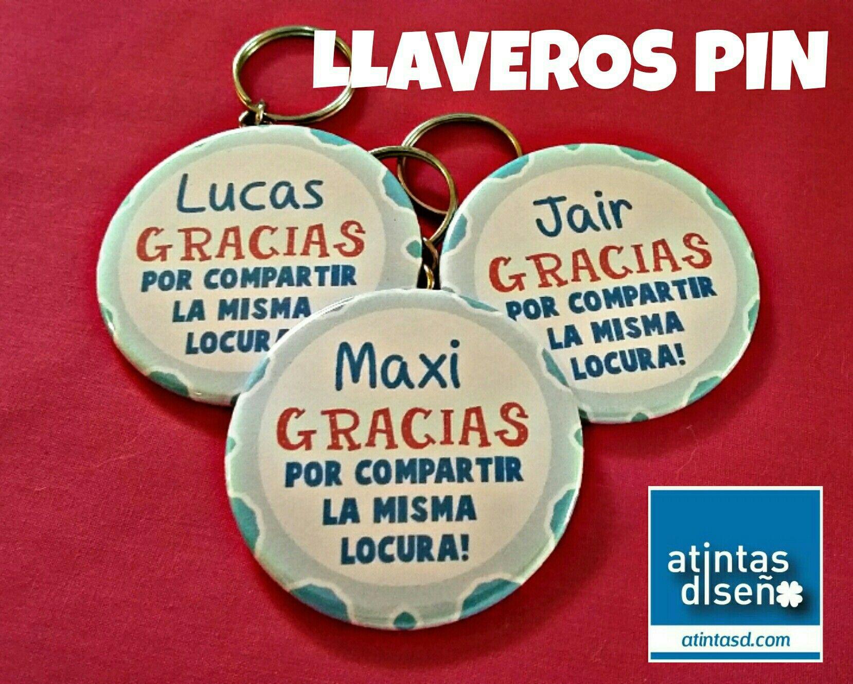 LLAVERO PIN www.atintasd.com Facebook/atintasd.com