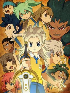 Inazuma Eleven Go Chrono Stone Anime Anime Style