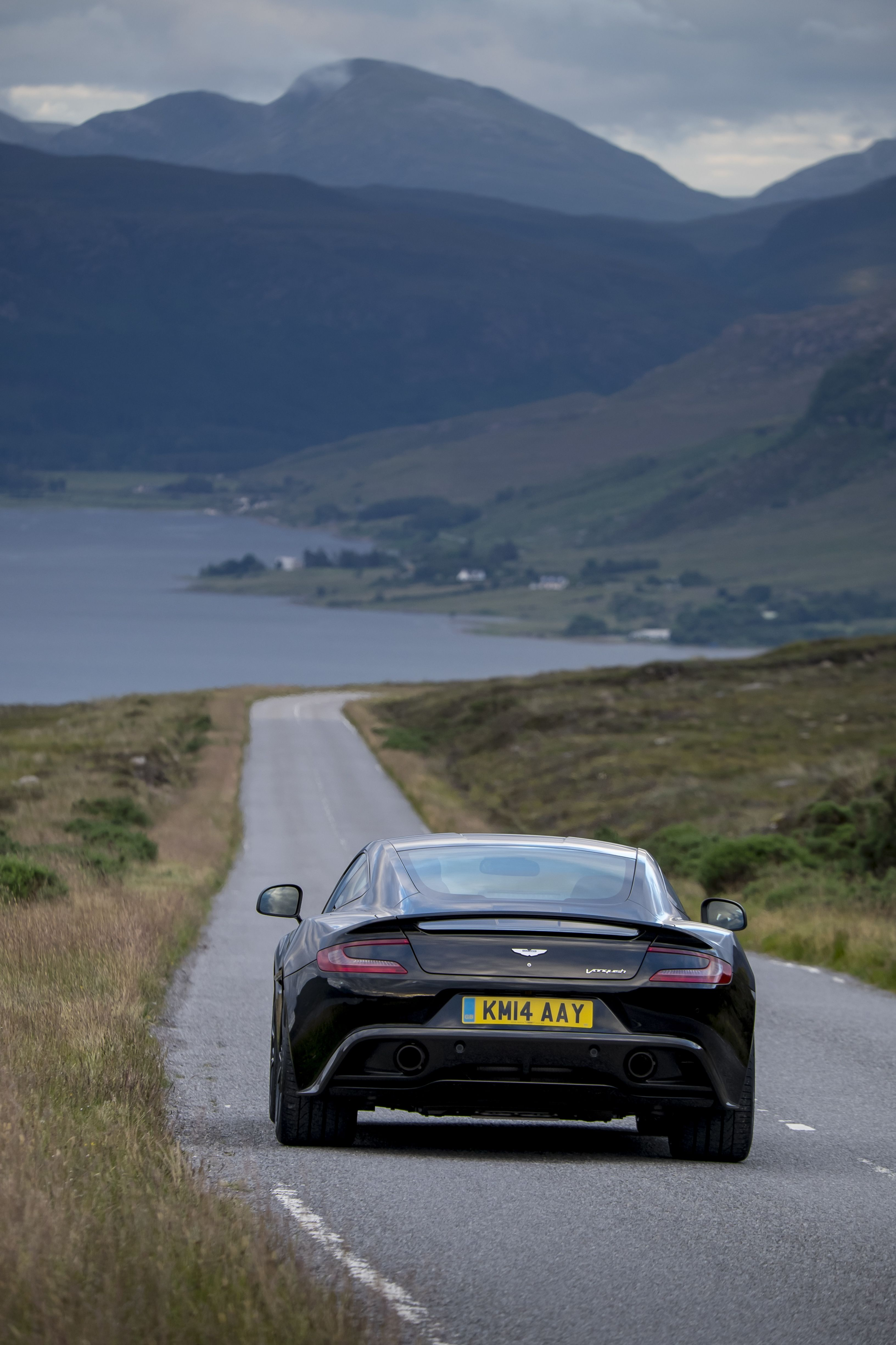 Vanquish Carbon Edition expresses beauty and soaring performance both with an extraordinary confidence, embracing its dark side with a fascinating theme and enriched with a unique package of carbon fibre and styled dark features. http://www.astonmartin.com/en/cars/the-new-vanquish/vanquish-carbon-edition