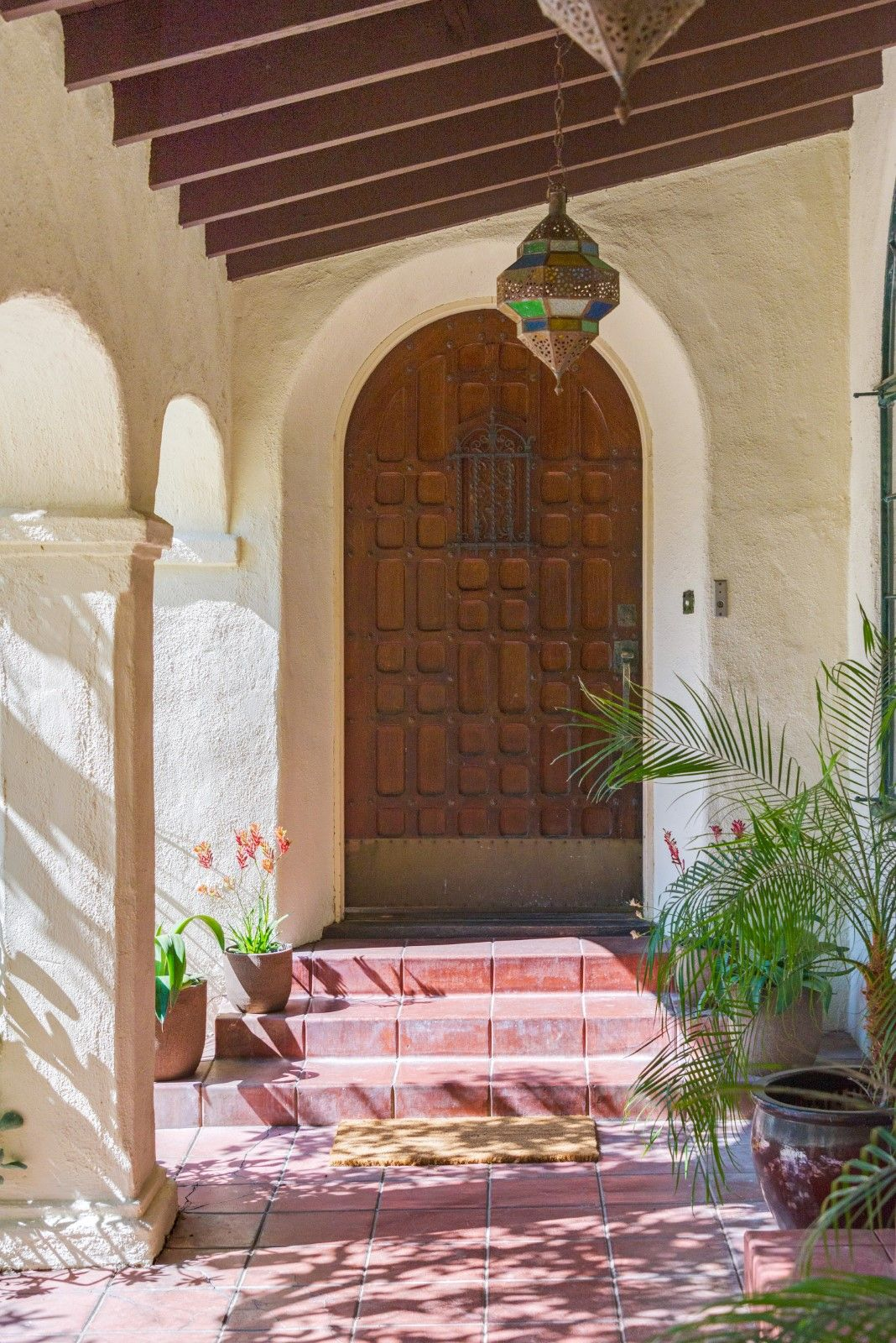 Entry Door 1927 Spanish Revival With Moorish Influences