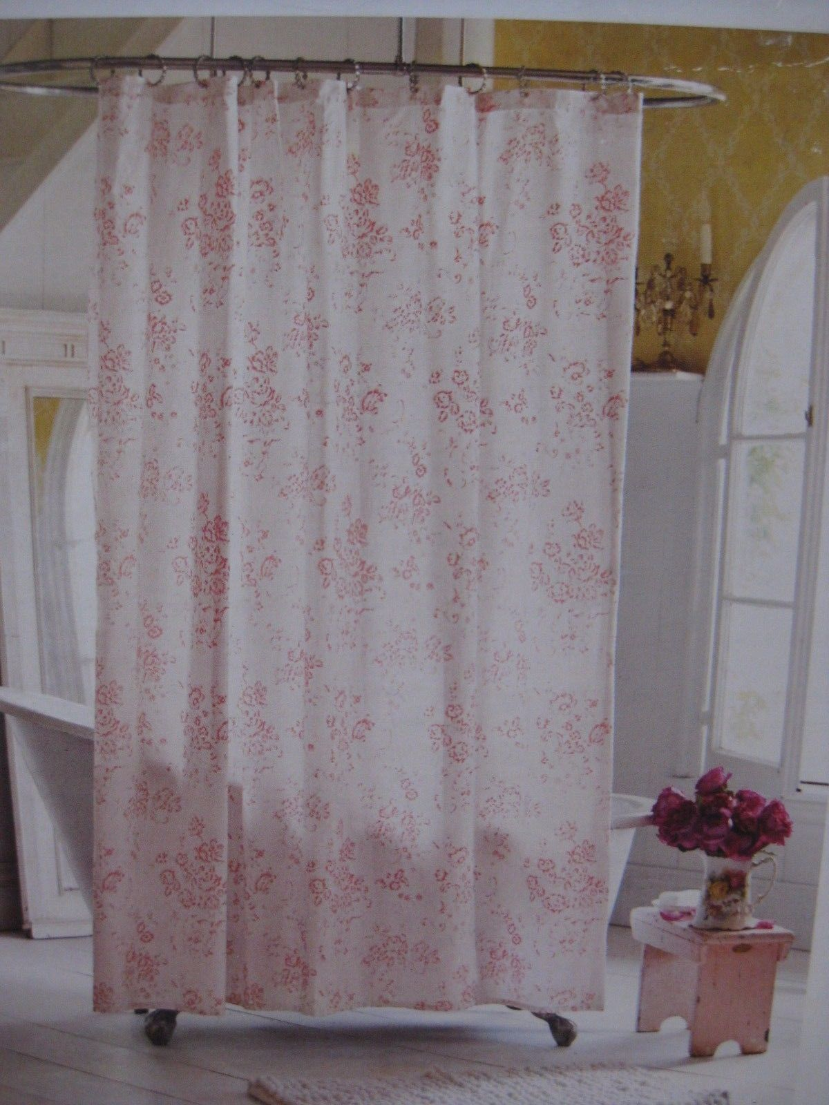 curtain for sizing regard curtains vintage design rod x trailer to shower with travel