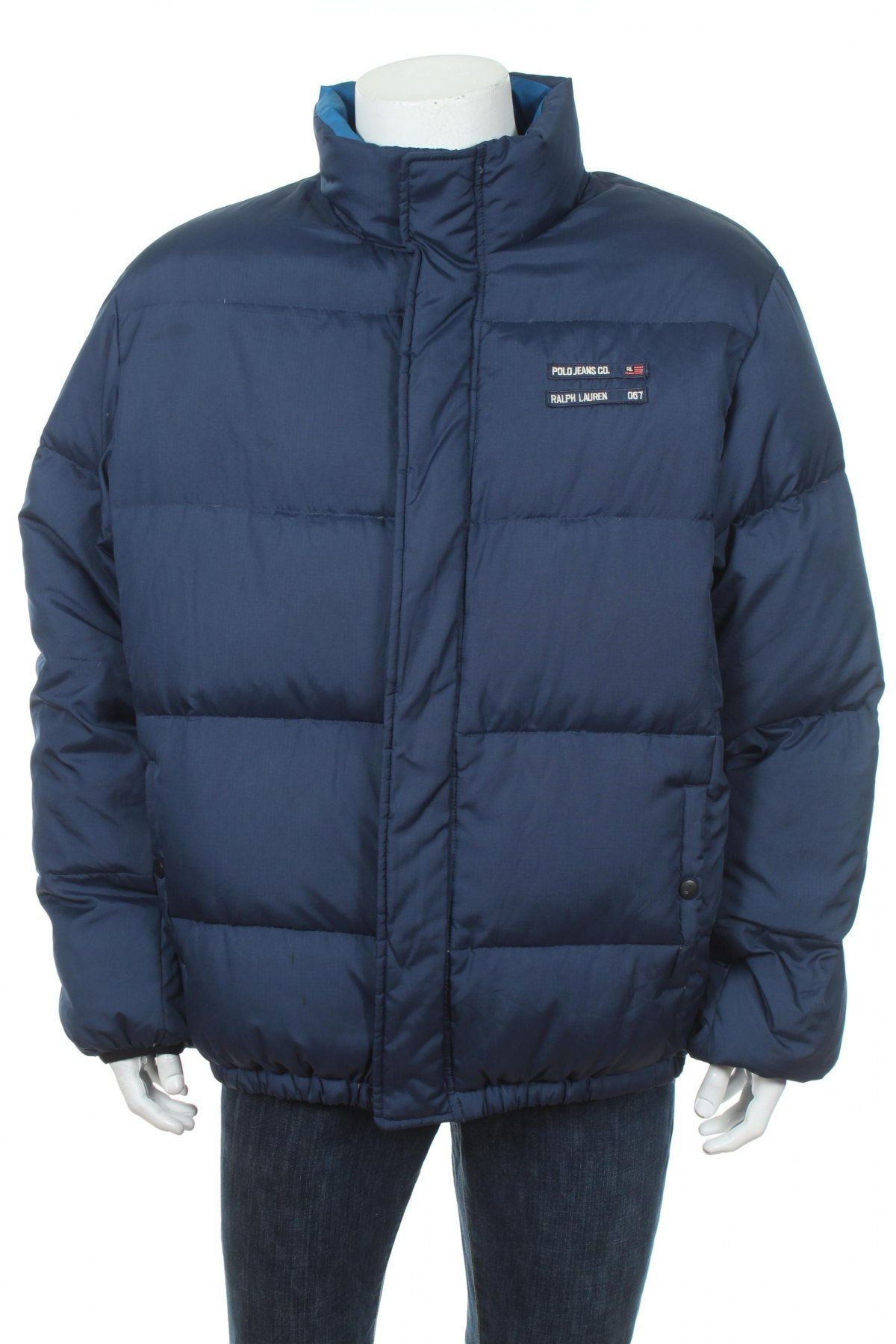 Vintage Polo Ralph Lauren Polo Jeans Quilted Winter Puffer