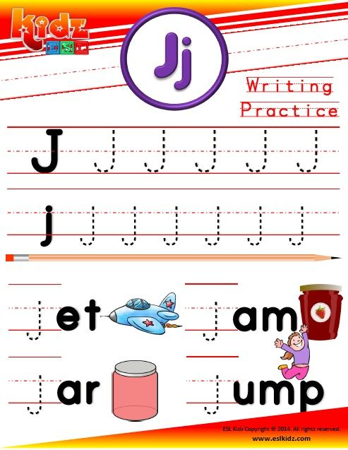 90 page alphabet writing and reading book Alphabet writing