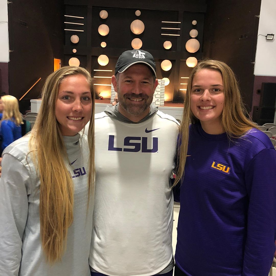 Lsu Beach Volleyball On Instagram Lara And Grace Had The Opportunity To Attend Louisiana S College Athlete Retreat Car This We In 2020 Lsu Beach Volleyball Athlete